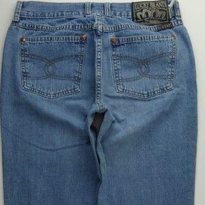 Lucky Brand 136 Peanut Pant Flare 8 Women's C281P